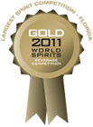 2011 world spirits competition gold medal award
