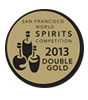 2012 double gold san francisco world spirits competition