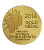 2014 gold medal new york world spirits competition